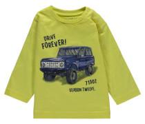 Jungen Baby Shirt Langarm, Grün
