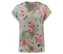 Damen T-Shirt, pistazie