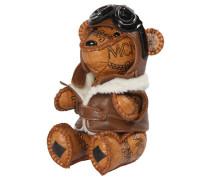 Damen Schlüsselanhänger Animal Charm Bear, Braun