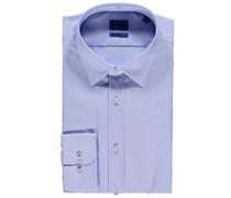 Joop: Herren Hemd L-Victor Slim Fit Langarm, bleu
