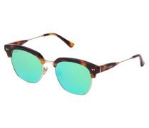 "Sonnenbrille ""Havana Tortoise Revo Mirrored"""