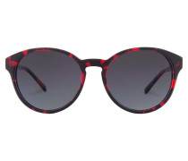 Sonnenbrille Leopold Funky Red