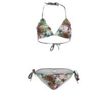 Damen Bikini Jungle, Druck3