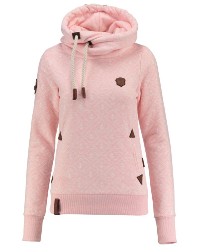 naketano damen naketano damen hoodie pink reduziert. Black Bedroom Furniture Sets. Home Design Ideas