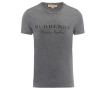 Herren Shirt Kurzarm, Grau