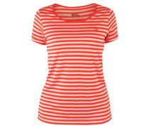 Damen Funktionsshirt High Coast Stripe T-Shirt W, Orange
