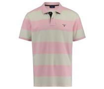 Herren Poloshirt Kurzarm, pink