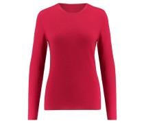 Damen Kaschmir-Pullover, geranie