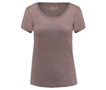 Damen T-Shirt Perry, Braun