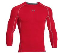Herren Kompressions-Shirt Langarm HeatGear Armour Gr. XXL
