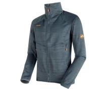 Herren Fleecejacke Eiswand Guide ML Jacket Men, Grau