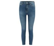 "Damen Jeans ""Cropa Cabana"" Skinny Fit, blue"