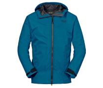 Jack Wolfskin: Herren Trekkingjacke / Wanderjacke Ridge Jacket Men, blau