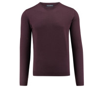 Herren Pullover Slim Fit, purple