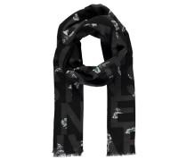 Damen Schal, schwarz
