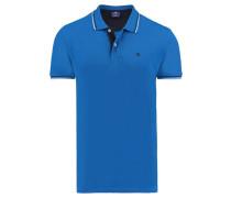 Herren Poloshirt, blau
