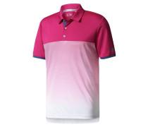 Herren Golfshirt / Poloshirt Climachill Gradient Stripe Polo, Rot