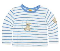 Mädchen Baby Shirt Langarm, Blau