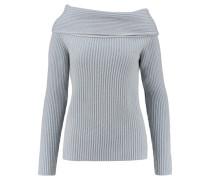 Damen Kaschmir-Pullover, bleu