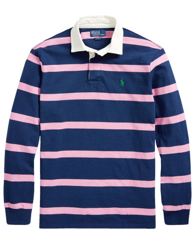Poloshirt Custom Slim Fit Langarm