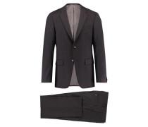 Herren Anzug Slim Fit zweiteilig, Grau
