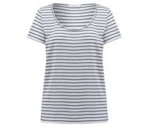 Damen T-Shirt, bleu