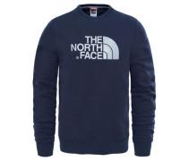 Herren Sweatshirt Langarm Drew Peak Crew, Blau