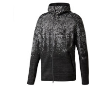 Herren Sweatjacke / Trainingsjacke Z.N.E. Pulse KN HD, Schwarz