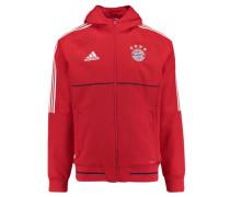 Herren Sweatjacke Presentation Jacket Saison 2017/18, Rot