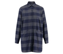 "Damen Hemdbluse ""Alpina Flannel Shirt"" Langarm, blau"