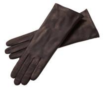 Damen Handschuhe Kaschmir Edelklassiker Medium, Braun