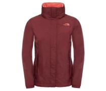 Damen Regenjacke W Resolve Jacket, Rot