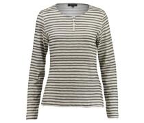Damen Shirt Langarm, Grau