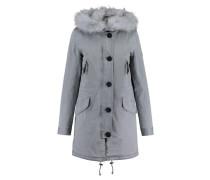 Damen Mantel Aspen, Blau