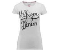 Damen T-Shirt THDW Basic CN T-Shirt, Weiß