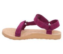 Damen Sandalen Universal Suede, Lila