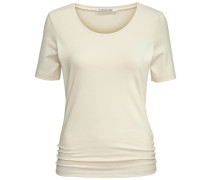 Damen T-Shirt, Beige