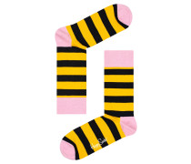 Herren Socken Stripe Sock