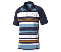 Herren Golfshirt / Poloshirt GT Road Map Polo, Blau