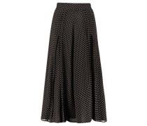 Damen Seidenrock, schwarz