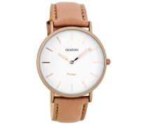 OOZOO: Damen Uhr Ultra Slim Vintage C7738, rose