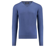 Herren Pullover Slim Fit, blue