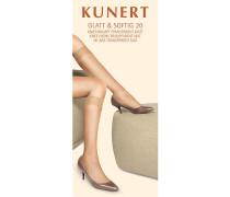 Damen Kniestrumpf Glatt & Softig 20 Gr. 35/3839/42