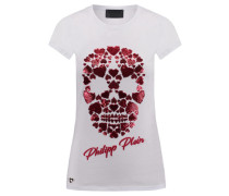 Damen T-Shirt Albany Love, Weiß