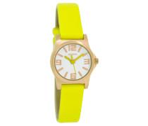 OOZOO: Damen Uhr C5785, gelb