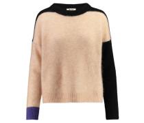 Damen Pullover Rafa Block, Braun
