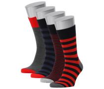 NAPAPIJRI Herren Socken Zodin Box im Viererpack, multicolor