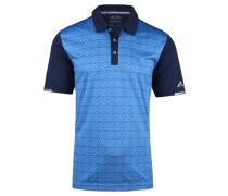 Herren Golfshirt / Poloshirt Climachill Tri-Geo Print Polo, Blau