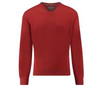 Herren Kaschmir-Pullover, rost