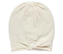 Damen Kaschmir-Mütze, Weiß